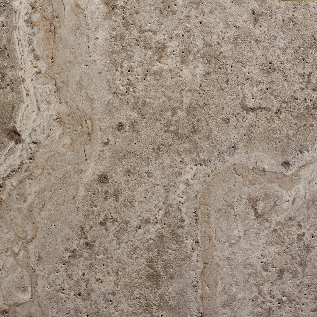 אבן טרוורטין אפור